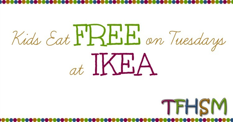 Free kids meal at ikea on tuesdays the frugal for Ikea free kids meal