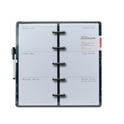 TGI Found It - Agenda Dry Erase White Board