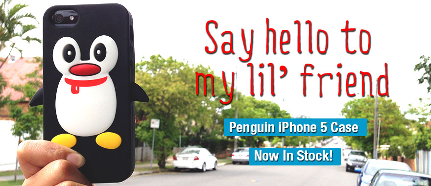 Penguin iPhone 5 Case