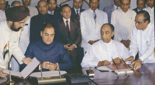India – Sri Lanka Peace Accord and 30 years of Indian Diplomacy in Sri Lanka : TGTE