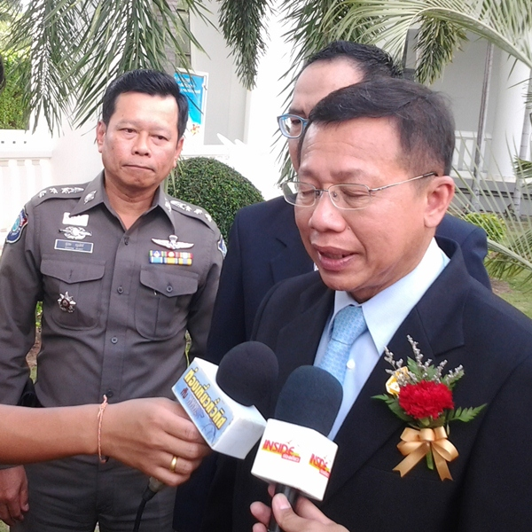 Minister of Tourism and Sports Somsak Pureesrisak
