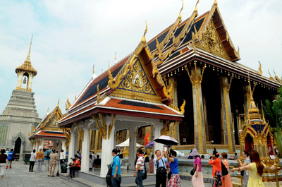 Bangkok top destination for Chinese