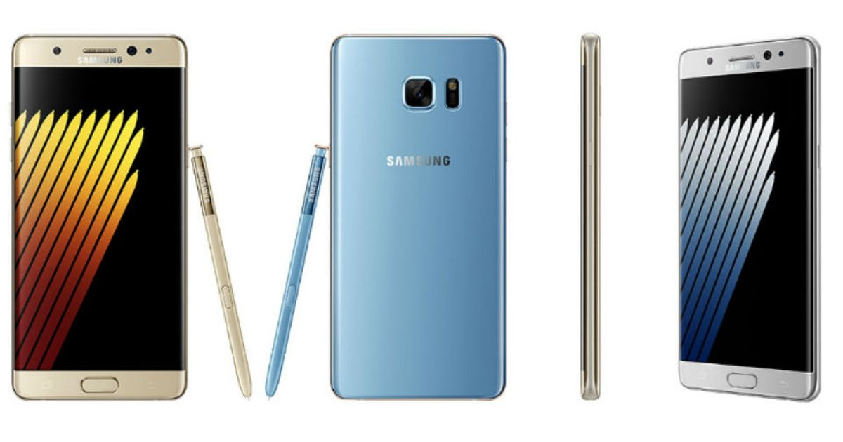 See the Samsung Galaxy Note 7 in all its glory