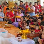 Buddhists across Thailand perform merit-making on Makha Bucha Day