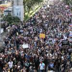 Anti-government protesters rally across Bangkok
