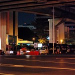 Two police vehicles stolen during Bangkok protests