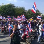 Suthep, protesters leave Government House