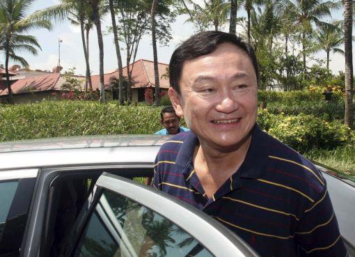 Former prime minister of Thailand Thaksin Shinawatra