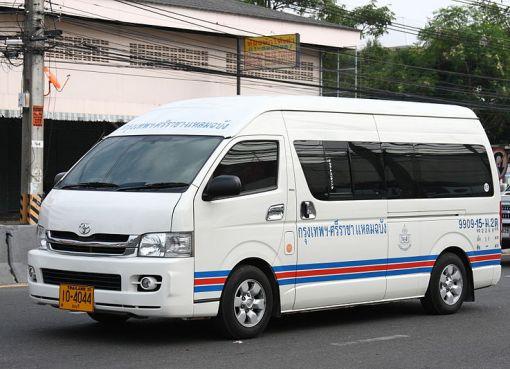 Toyota minivan commuter in Thailand