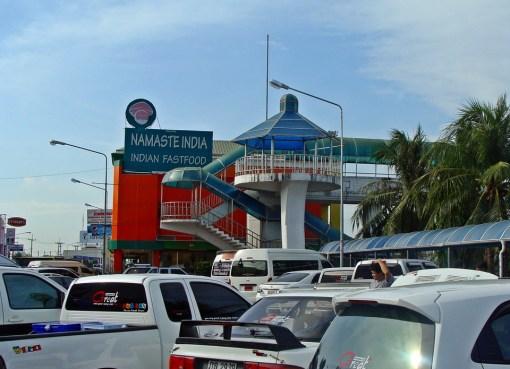 Indian fast food restaurant in Thailand