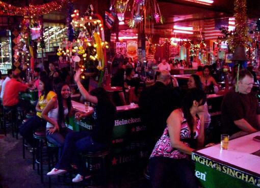 Beer bar in in Pattaya
