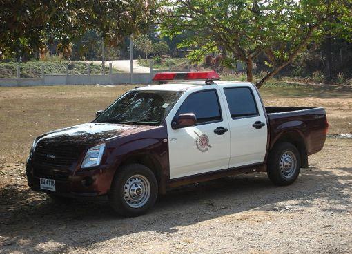 Thai police pickup