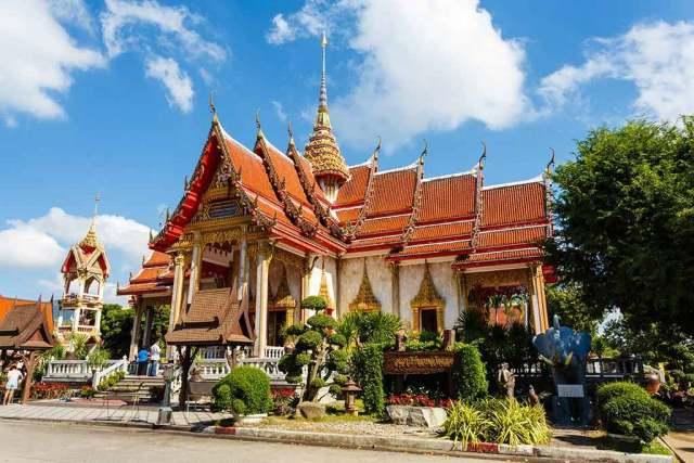 Wat Chalong in Phuket
