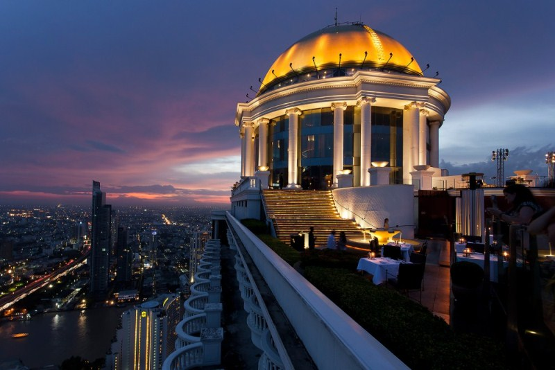 sirocco restaurant and sky bar bangkok