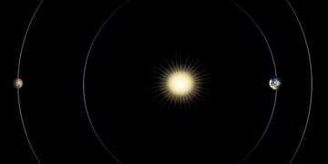 Mars solar conjunction
