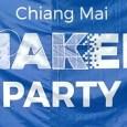 เมื่อวันเสาร์ อาทิตย์ที่ 28 – 29 มีนาคมที่ผ่านมา Chiang Mai Maker Club ได้จัดงาน Chiang Mai Maker Partyขึ้น เลยถือโอกาสไปพักผ่อน เยี่ยมเยียนชมรมนี้หน่อย บรรยากาศงานสนุกสนานดีทีเดียว งานจัดเป็นครั้งแรกไม่ใหญ่มาก ปริมาณเมกเกอร์ที่มาร่วมงานถือว่ามากเมื่อเทียบกับขนาดงานเลยทีเดียว ภายในงานมีการบรรยายจากวิทยากรหลายท่าน แสดงผลงานของเมกเกอร์มากมาย แข่งหุ่นยนต์ซูโม่ หุ่นยนต์วิ่งวิบาก และมีการ pitch ชิงเงินสนับสนุนโครงการมูลค่า 1 แสนบาทด้วย บรรยากาศงานเป็นอย่างไรไปชมกันเลยครับ
