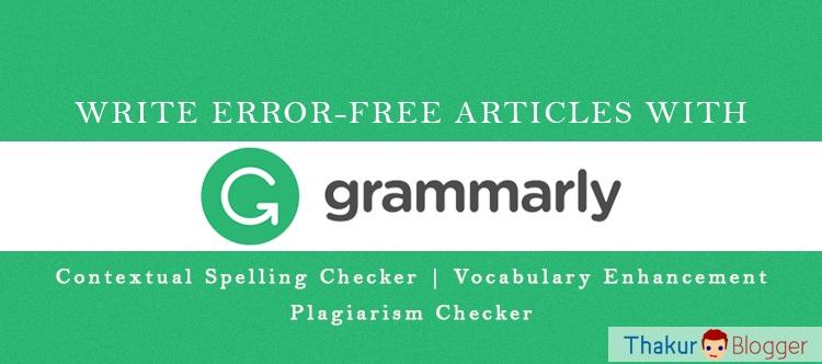 Online grammar review