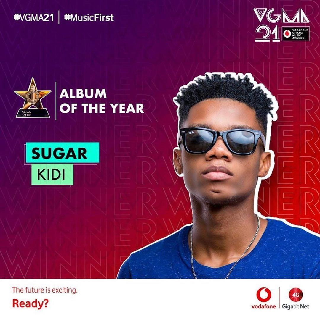 2020 VGMA Album Of The Year
