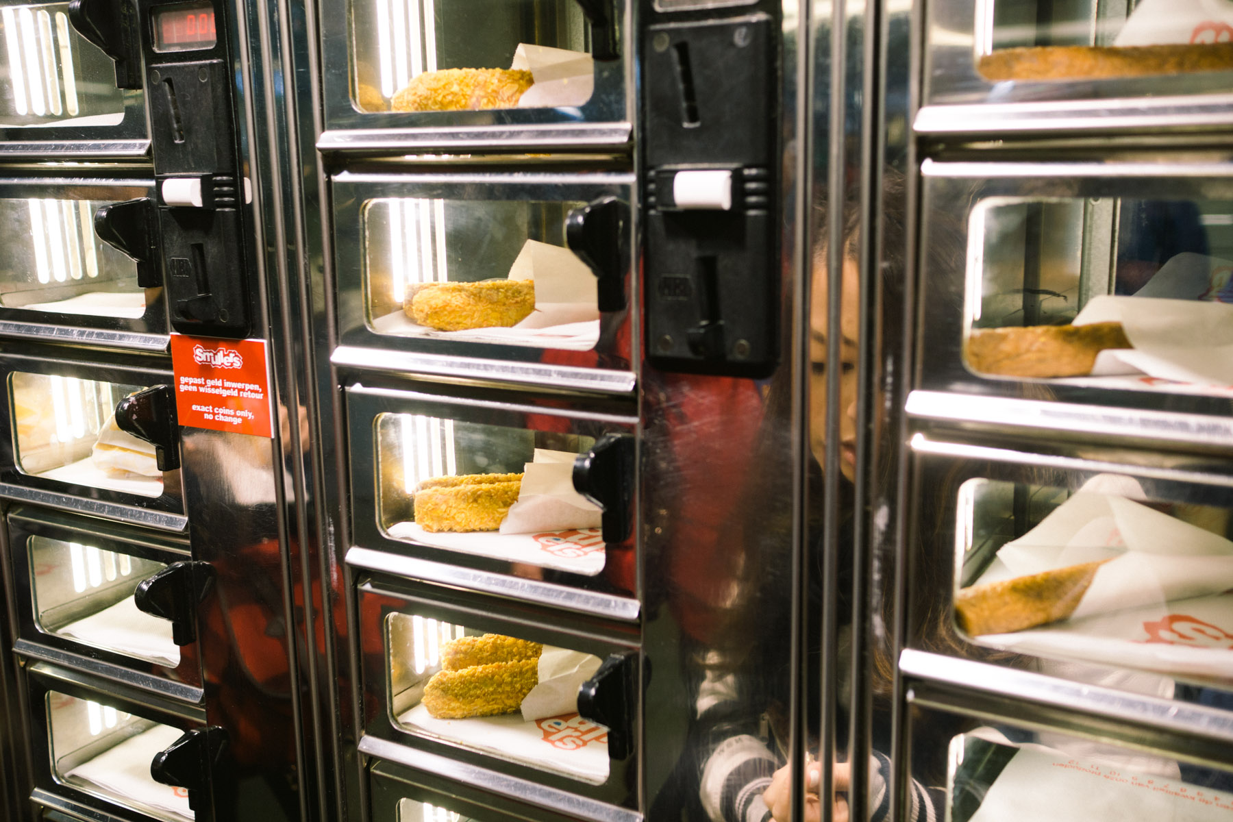 Febo vs Smullers: Fast Food Vending Machines in Amsterdam, Netherlands | That Food Cray