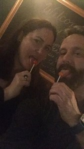 Licking Lollies with Laurie