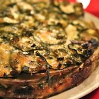 Potato Zucchini Torte