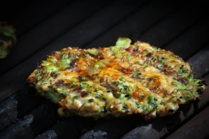 Chicken and Broccoli Teriyaki Burger