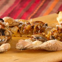 Sausage and fennel flatbread