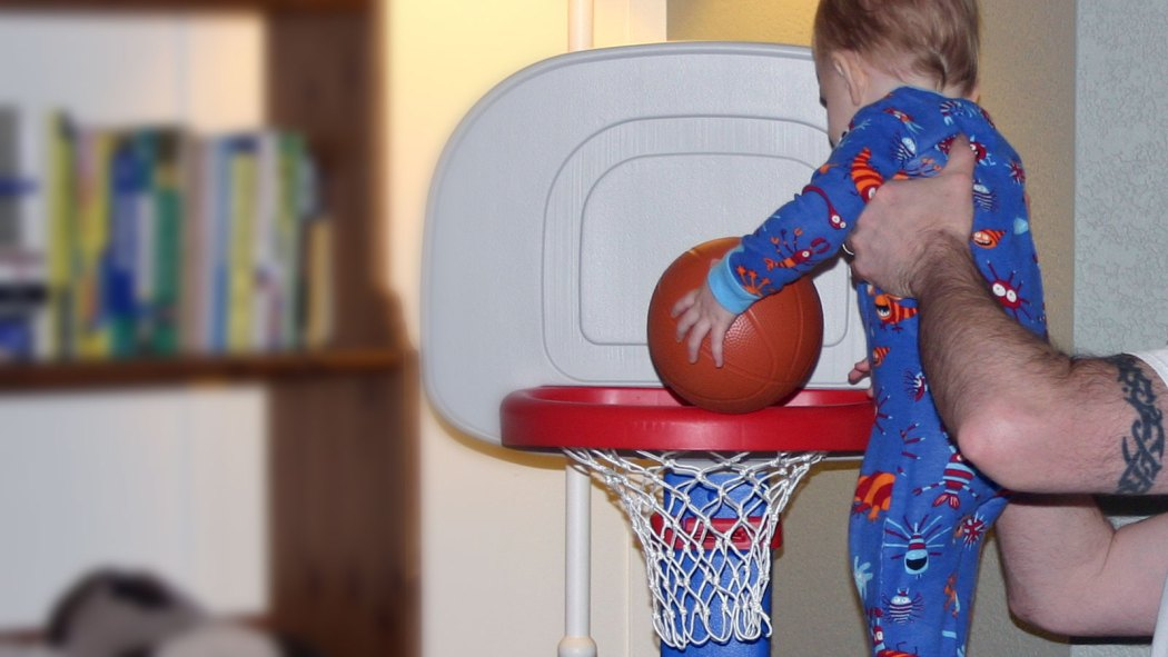 Little Tykes EasyScore Basketball Set Review and Giveaway!
