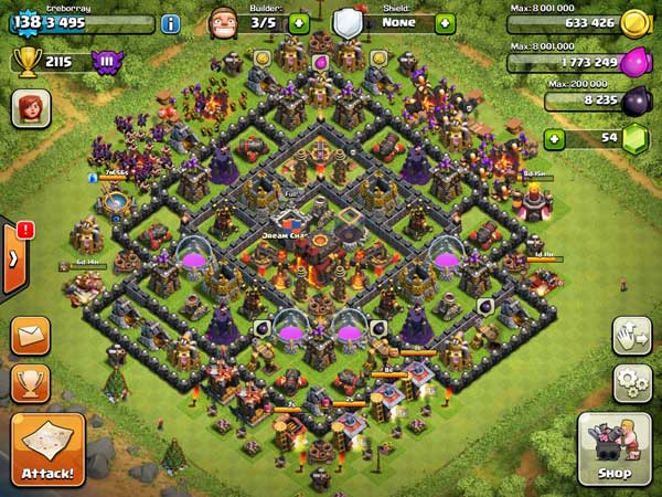 10 Town Hall Level 10