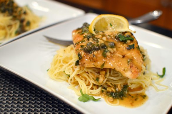 Chicken Piccata | That Square Plate