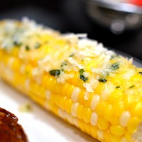 Herby-Parmesan Corn on the Cob