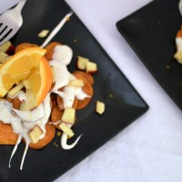 Sweet Potato Dessert Nachos