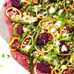 Loved the way this beet pizza crust turned out! Ithellip