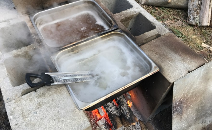 How To Make a Cheap Maple Syrup Evaporator for Under $50