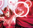 Scarlet Witch Comic Style