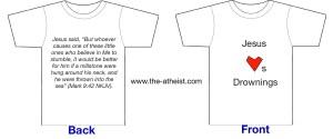 drowningt-shirt