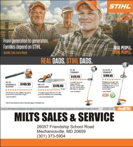 Visit us in person or online for great Father's Day presents and put Dad to work!