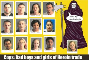 Cops Bad boys and girls of heroin trade in Anne Arundel