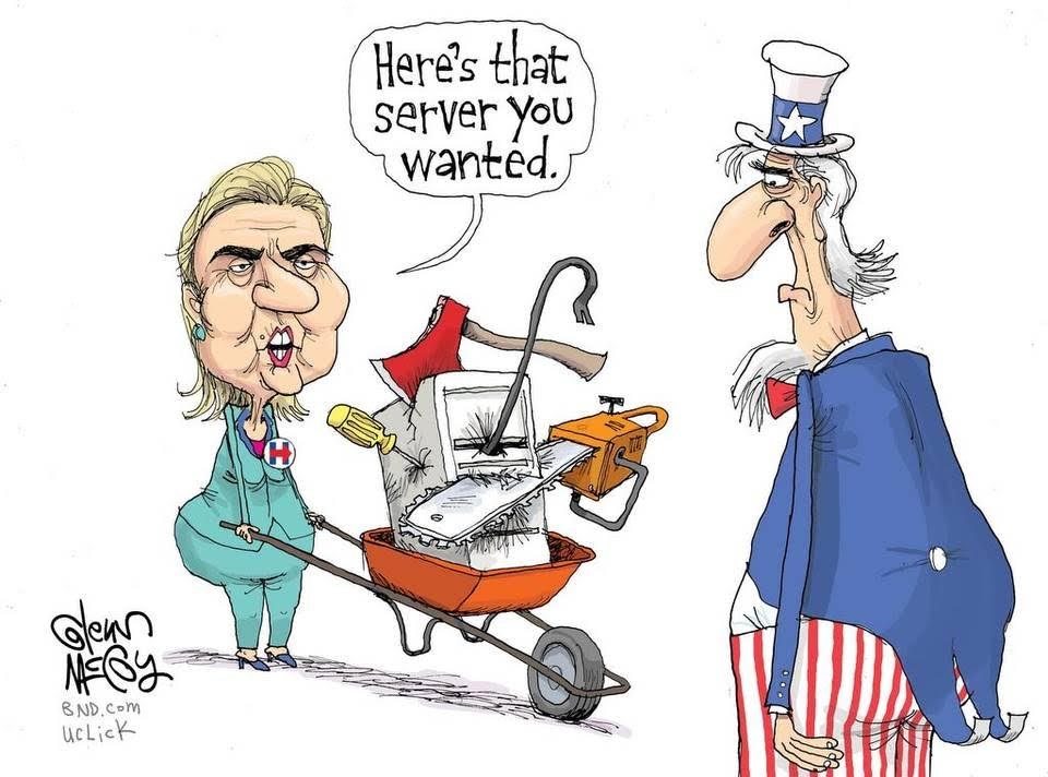 Hillary comes clean