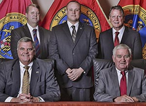 St. Mary's Commissioner Board elected in 2014 Tom Jarboe, John O'Conner, Mike Hewitt, Todd Morgan, Randy Guy