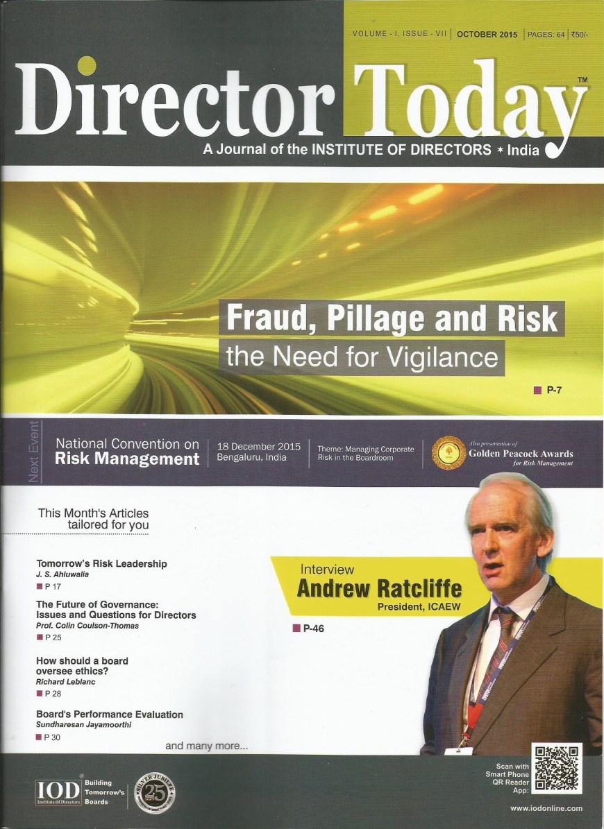 director today - october 2015