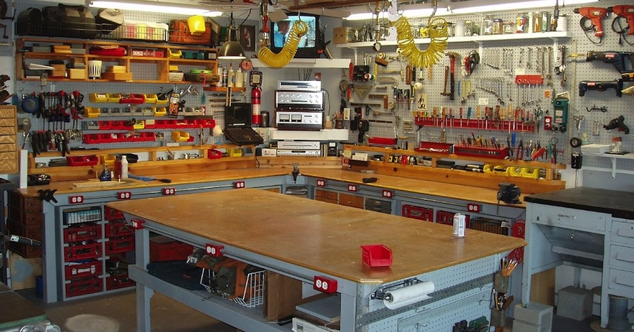 Improve Your Workshop With These 5 Projects