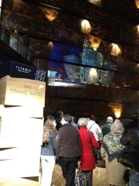 Vigil at Titanic Belfast