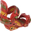 Technine T Money Pro Snowboard Bindings Rasta