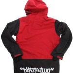 Thirtytwo x DGK Shiloh Jacket Back (Red)