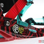 Flow M9-SE Snowboard Bindings - Base & Power Triangle