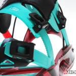 Flow M9-SE Snowboard Bindings - Micro Strap Adjustments