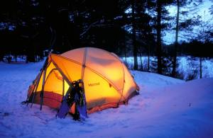 Winter Tenting