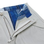 Burton Chino Pants - Open Fly - Haze