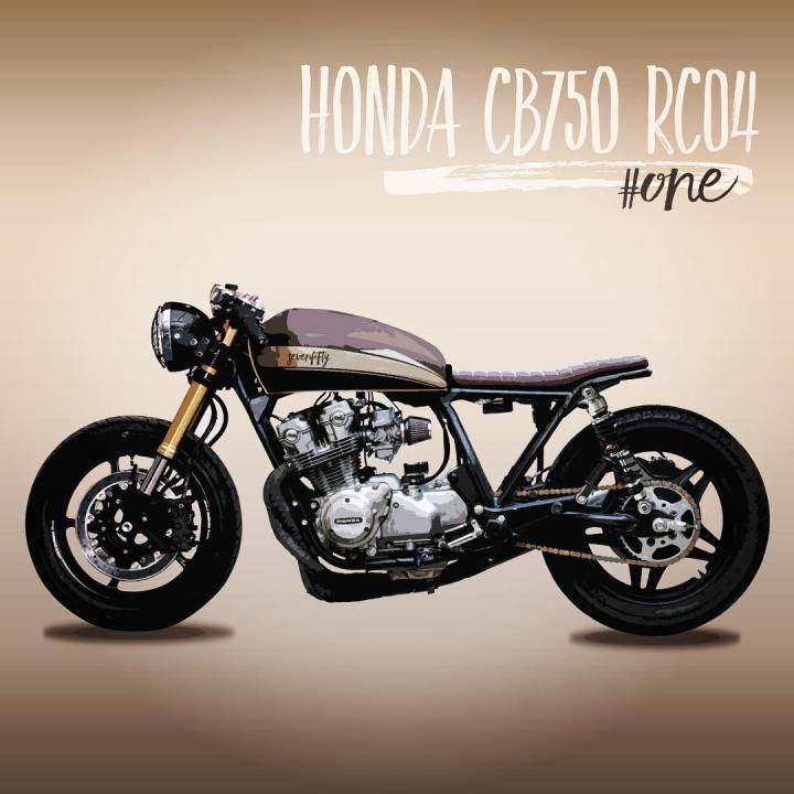 caferacerinspiration One with some modifications made on my caferacer hondacb750hellip